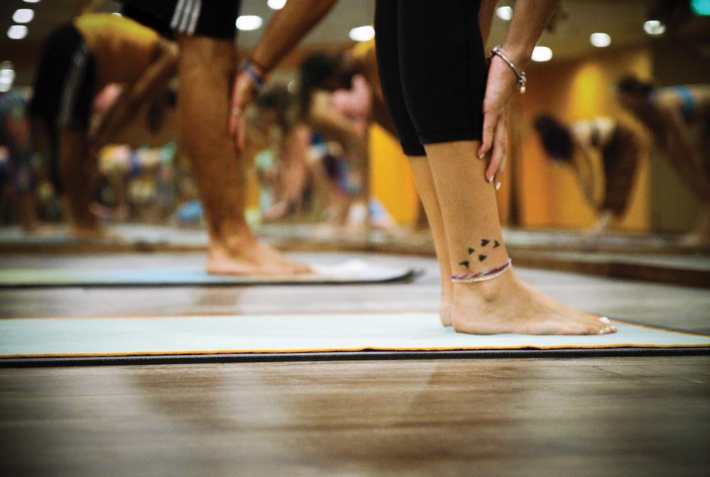 cours de yoga collectif corronsac