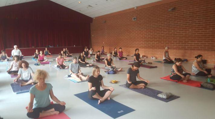 cours de yoga collectif saint leon