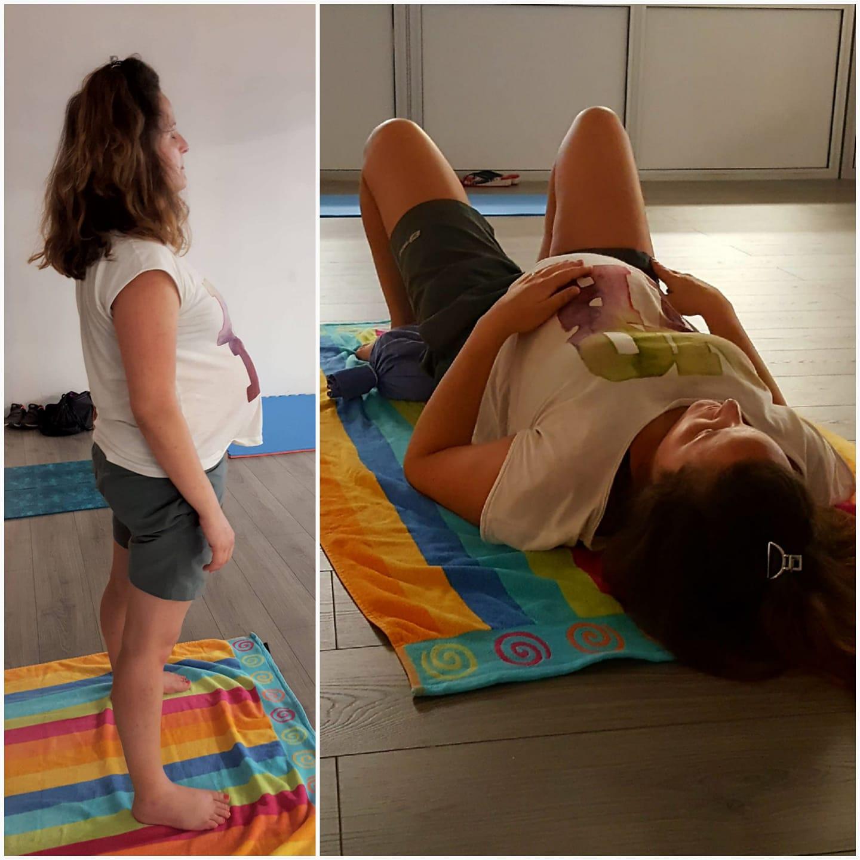 cours yoga enceinte