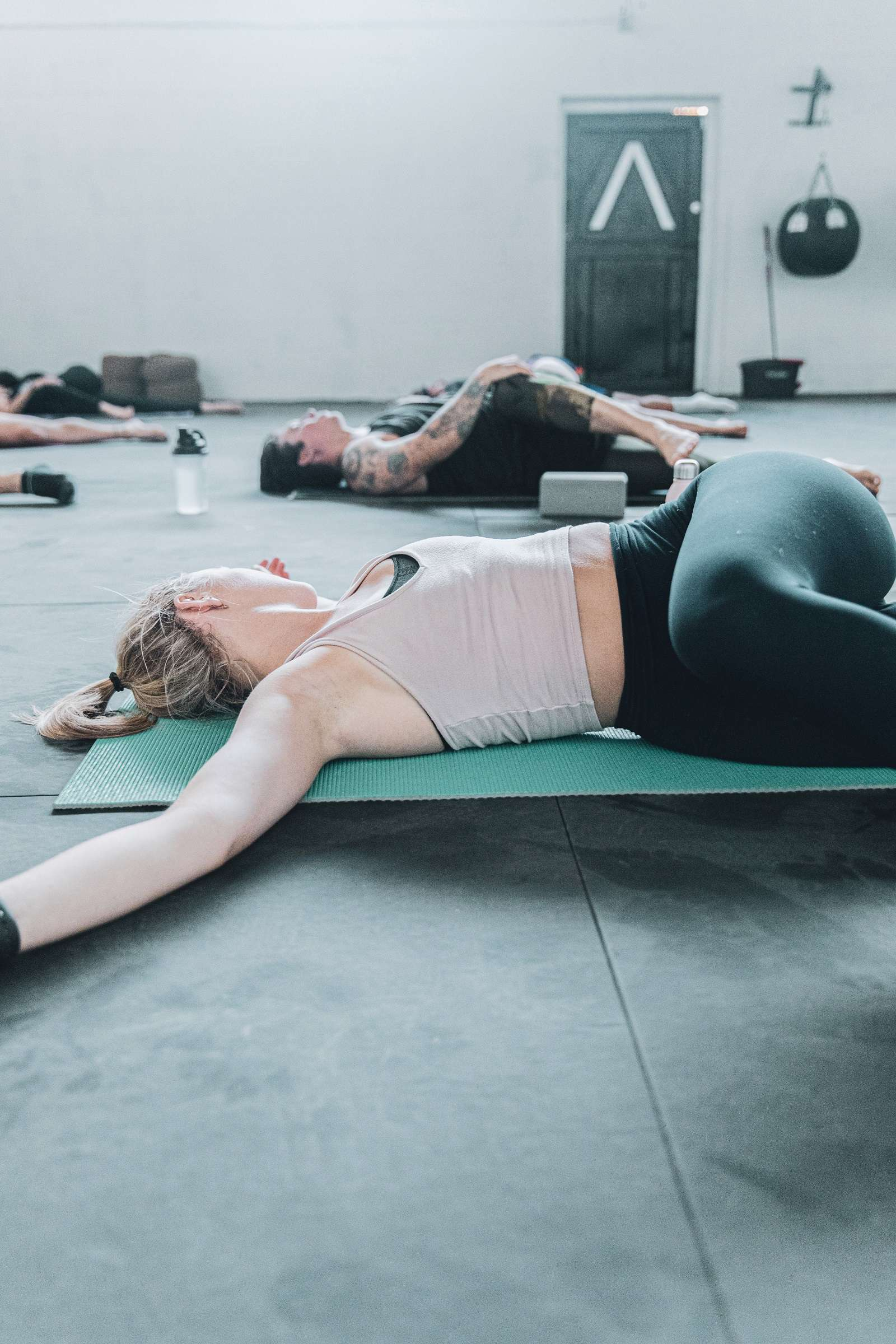 yoga séance